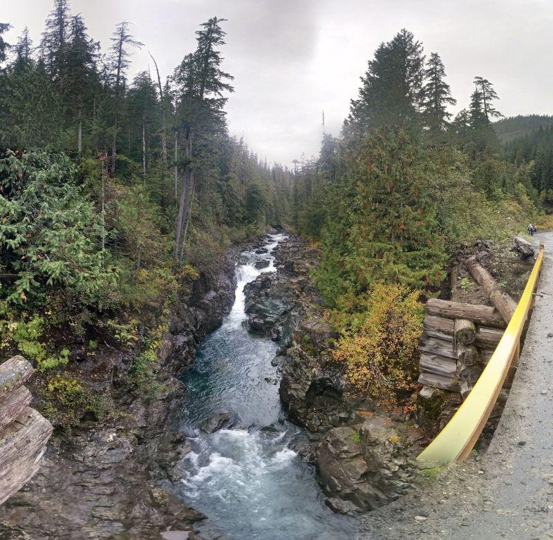 Random stream/bridge (up Ash River Main).