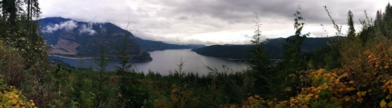 Pano from part way up