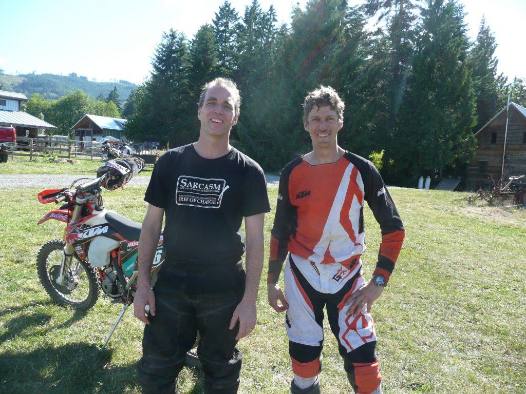 Tom and Chris Birch